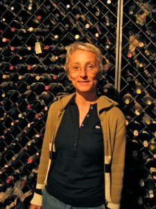 Maria Teresa Mascarello in her wine cellar
